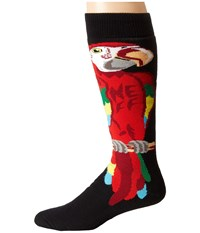 Neff Parrot Snow Socks Red Men's Thigh High Socks Shoes