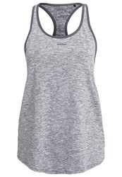 Venice Beach Bola Vest Coal Melange Dark Grey