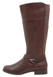Evans Luciano Boots Brown