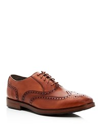 Cole Haan Hamilton Wingtip Oxfords Brown