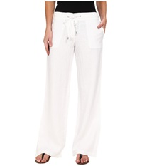 Tommy Bahama Two Palms Drawstring Pants White Women's Casual Pants