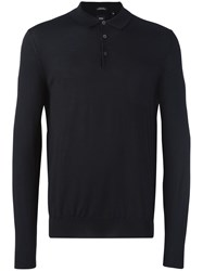 Hugo Boss 'Bertone' Polo Shirt Black