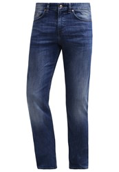 Hugo Boss Green Cdelaware Slim Fit Jeans Medium Blue Blue Denim