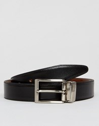 Peter Werth Reversible Leather Belt In Black And Tan