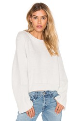 Charli Chance Sweater Light Gray