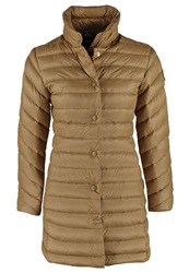 Gant Down Coat Hazelnut Camel