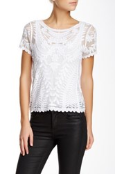 Dex Embroidered Blouse White