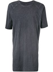 Isaac Sellam Experience Elongated T Shirt Grey
