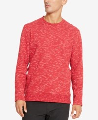 Kenneth Cole Reaction Men's Space Dyed Sweatshirt Rio Red