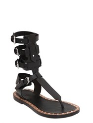 Isabel Marant Jeepy Leather Gladiator Sandals