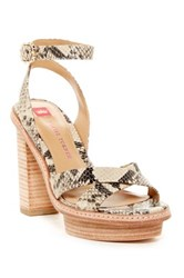 Elaine Turner Designs Rose Platform Sandal Multi