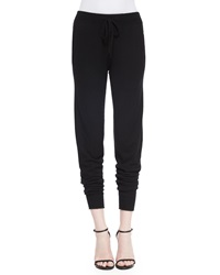 Donna Karan Stretch Cashmere Blend Sweatpants