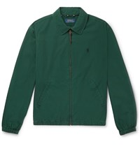 Polo Ralph Lauren Cotton Harrington Jacket Green
