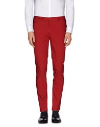 Brian Dales Trousers Casual Trousers Men Red