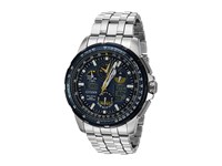 Citizen Jy8058 50L Eco Drive Silver Tone Watches Black