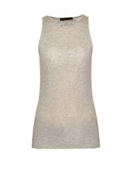 The Row Lansa Ribbed Cotton And Cashmere Blend Tank Top