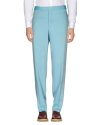 Tom Ford Casual Pants Turquoise