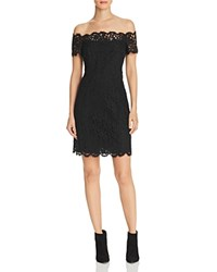 Whistles Off The Shoulder Lace Dress 100 Bloomingdale's Exclusive Black