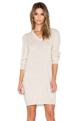 Equipment Eunice Cashmere Sweater Dress Cream
