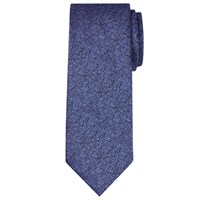 Chester Barrie By Semi Plain Silk Tie Navy