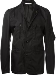 Givenchy Military Style Jacket Black