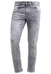 Petrol Industries Seaham Slim Fit Jeans Dustysilver Grey