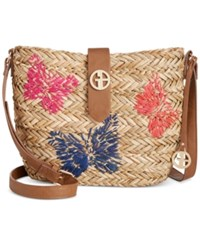 Giani Bernini Butterfly Crossbody Only At Macy's Natural