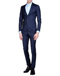 Mauro Grifoni Suits And Jackets Suits Men Dark Blue