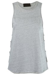 Andrea Bogosian Tank Top Grey