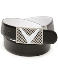 Callaway Reversible Chevron Belt Caviar