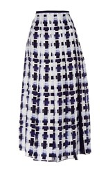 Mother Of Pearl Dune Midi Skirt Print