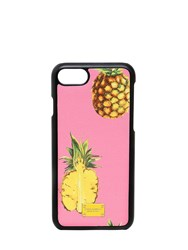 Dolce And Gabbana Pineapples Leather Iphone 7 Case