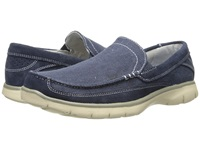 Dockers Ambrose Navy Washed Canvas Suede Men's Slip On Shoes