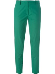 Vanessa Bruno Cropped Trousers Green