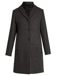 Max Mara Bombo Coat Dark Grey