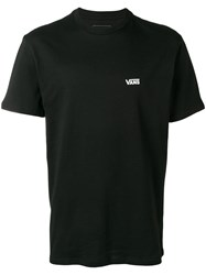 Vans Back Print T Shirt Black