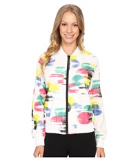 Puma Full Zip Jacket White Aop Women's Coat