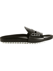 Band Of Outsiders Slip On Sandals Black