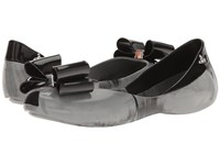 Vivienne Westwood Anglomania Melissa Queen Black Women's Flat Shoes