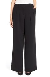 Women's Adrianna Papell Pleat Front Wide Leg Pants