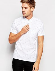 Peter Werth Jaray Double Dot Polo White