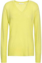 Duffy Cashmere Sweater Bright Yellow
