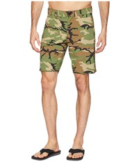 Brixton Toil Ii Shorts Multi Camo