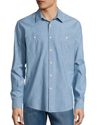 Dockers Slim Fit Chambray Sportshirt Denim