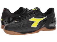 Diadora Maracana 18 Id Black Fluo Yellow Soccer Shoes
