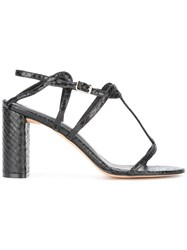 Jean Michel Cazabat Savana Sandals Black