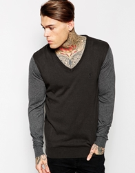 Religion Stated Jumper Grey