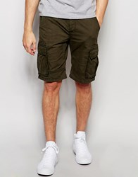 Only And Sons Cargo Shorts Khaki Green