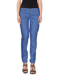 Blugirl Folies Denim Denim Trousers Women Pastel Blue