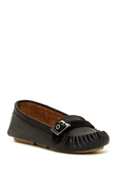 Bearpaw Brooke Buckle Driving Loafer Black